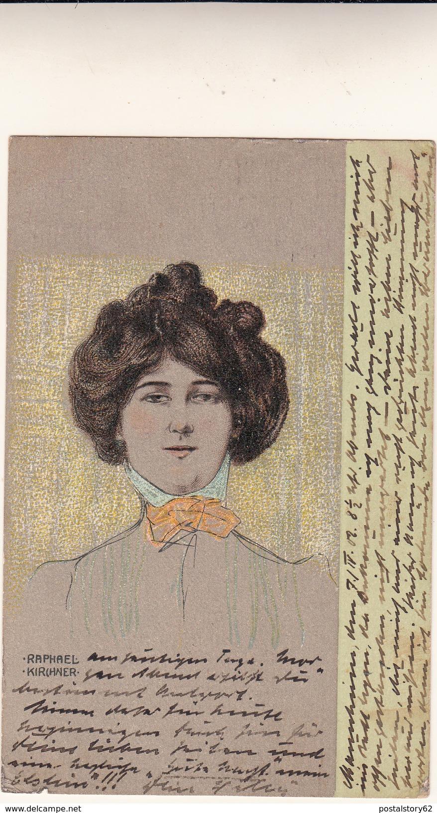 Kirchner Raphael, Post Card Used 1902 - Kirchner, Raphael