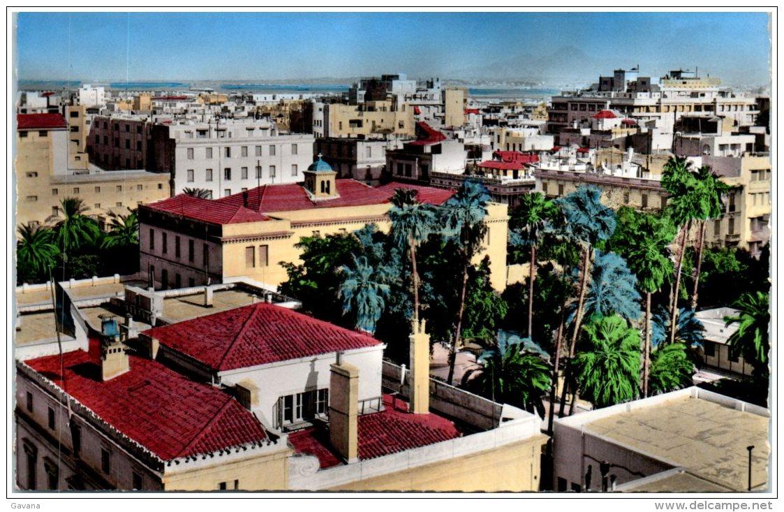TUNIS - Vue Générale    (Recto/Verso) - Tunesië