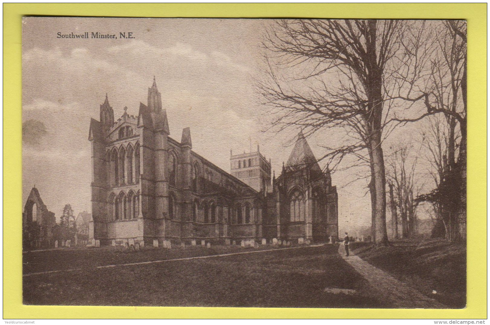 Nottinghamshire - Southwell Minster, From North East - Howard Barrett's Series Postcard - Autres