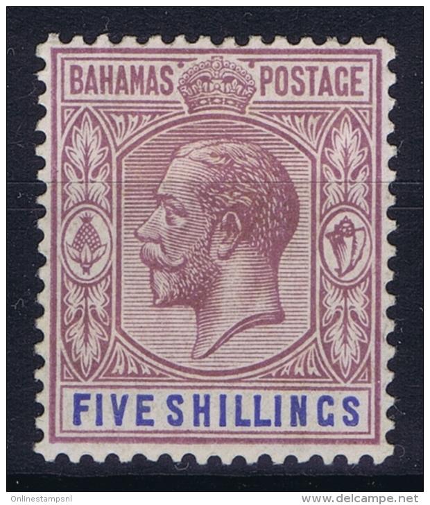 Bahamas: SG 124 Mi Nr 86 MH/* Falz/ Charniere  1924 - Bahamas (...-1973)