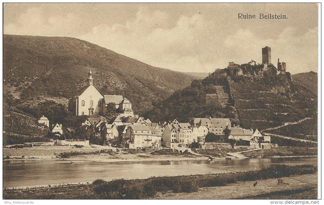 AK 0691  Ruine Beilstein Ca. Um 1920 - Cochem