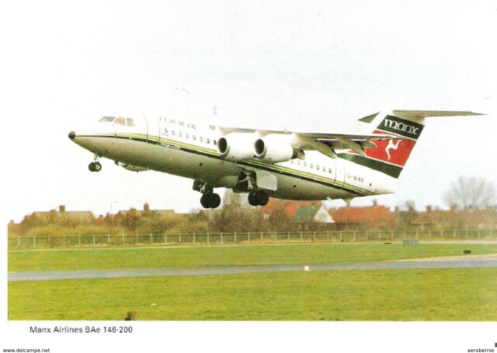 MANX AIRLINES - BAe 146  (Airline Issue) - 1946-....: Moderne