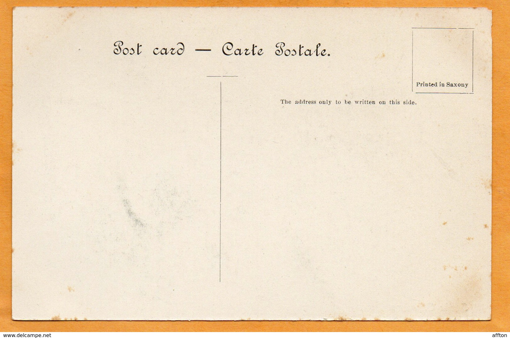 Mumbai Bombay India 1900 Postcard - India
