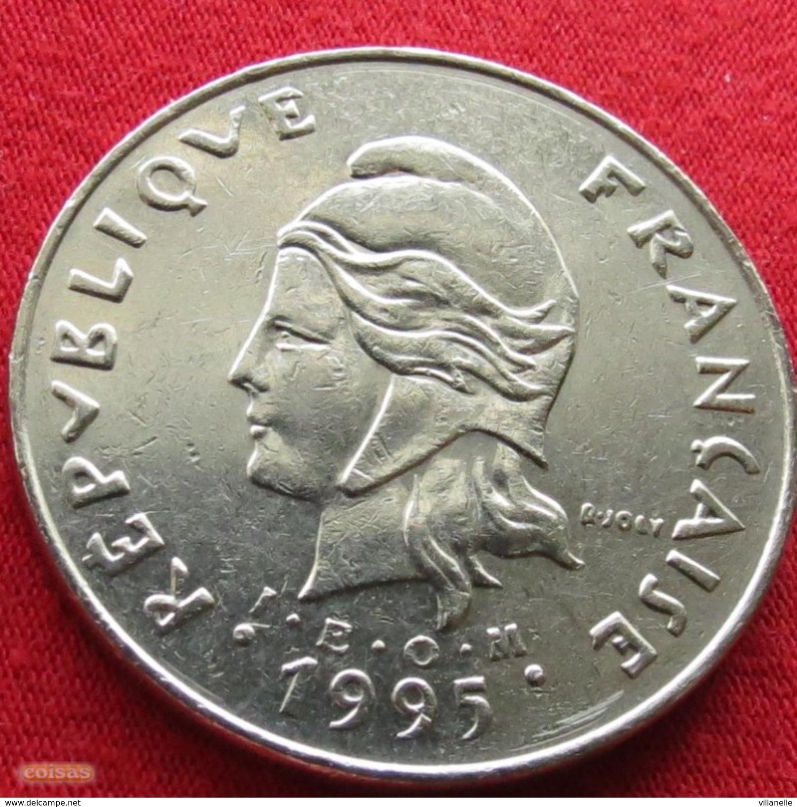 French Polynesia 50 Francs 1995 KM# 13 Polynesie Polinesia - Polynésie Française
