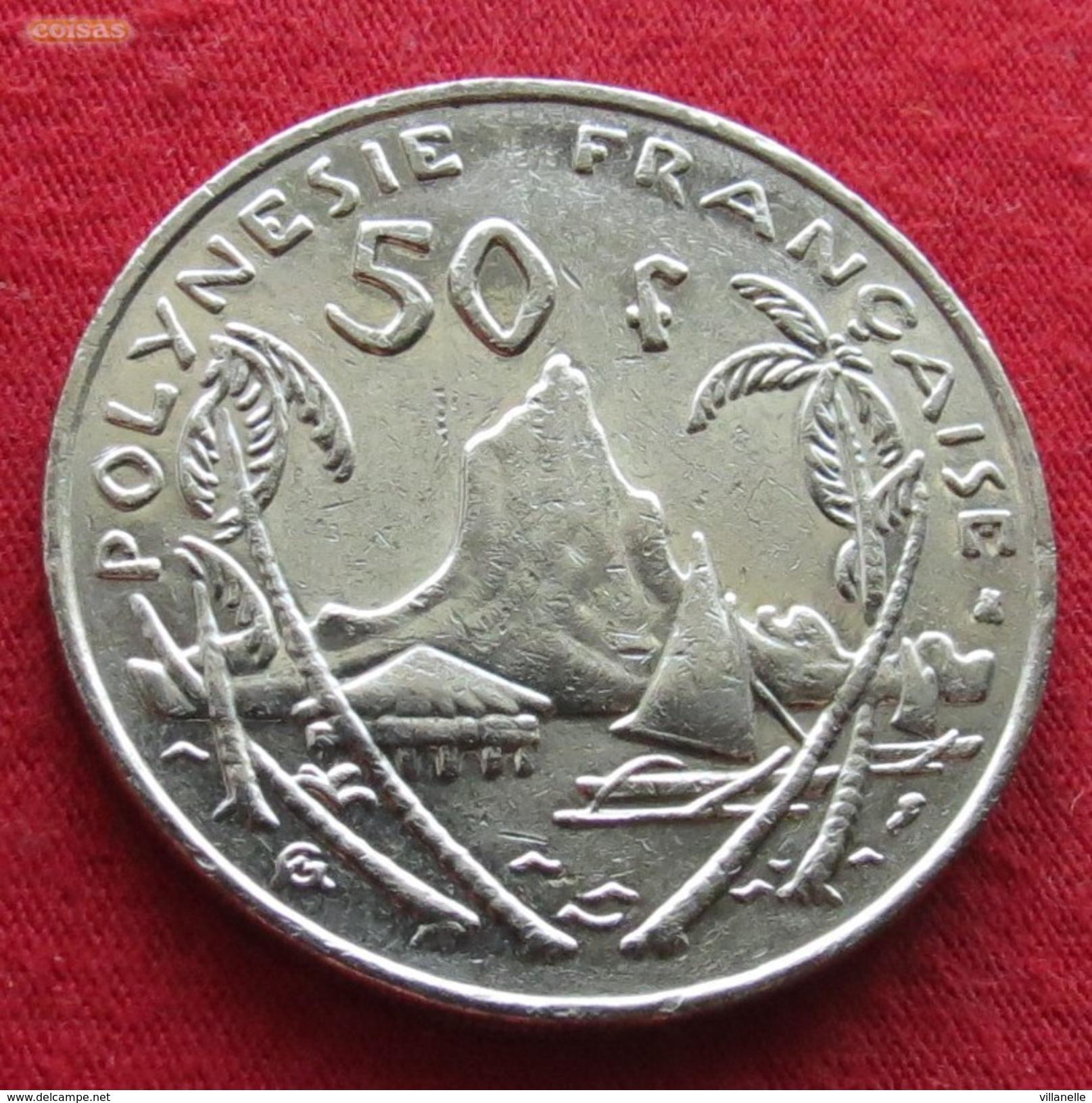 French Polynesia 50 Francs 1998 KM# 13 Polynesie Polinesia - Polynésie Française
