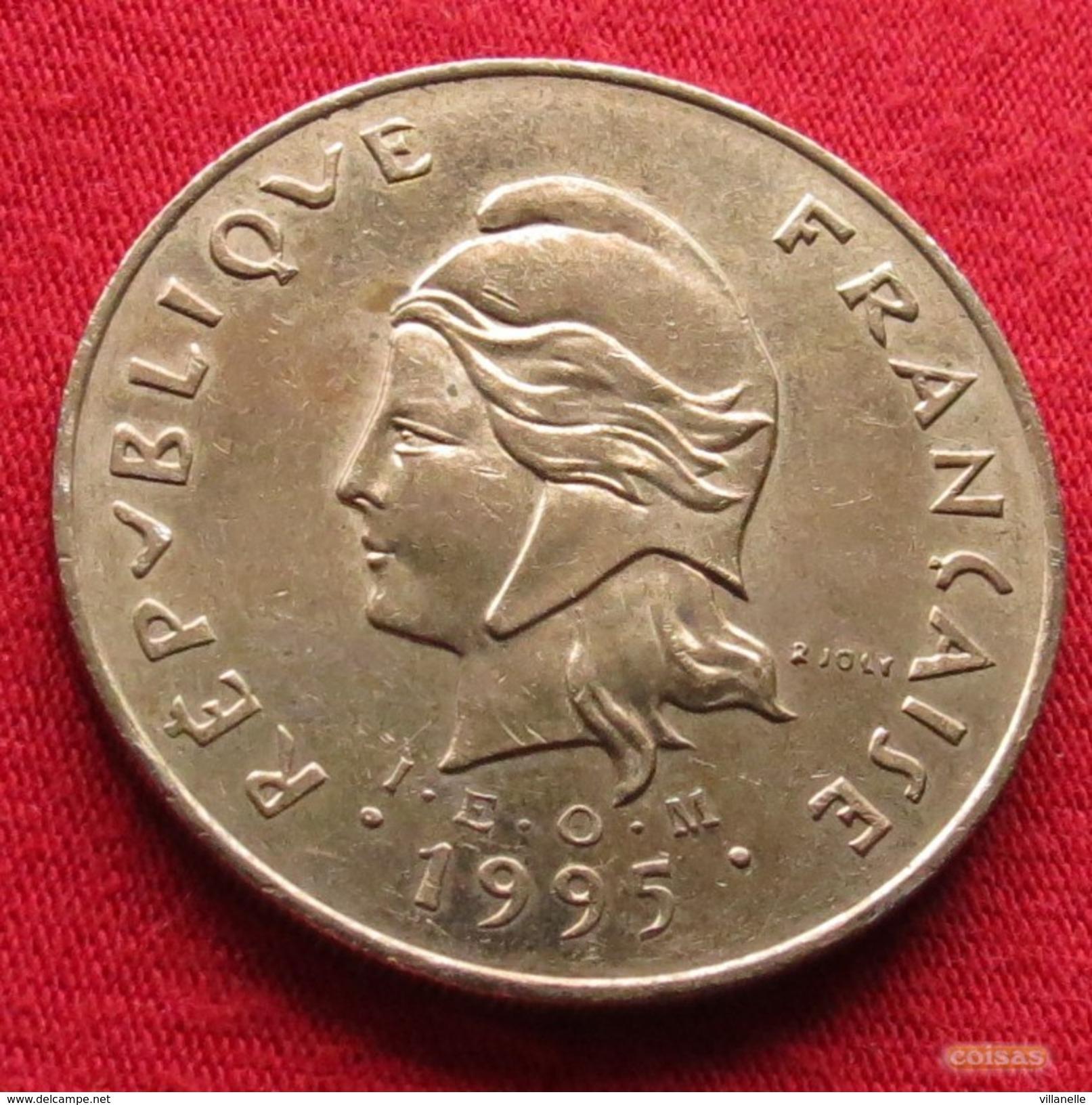 French Polynesia 100 Francs 1995 KM# 14 Polynesie Polinesia - Polynésie Française