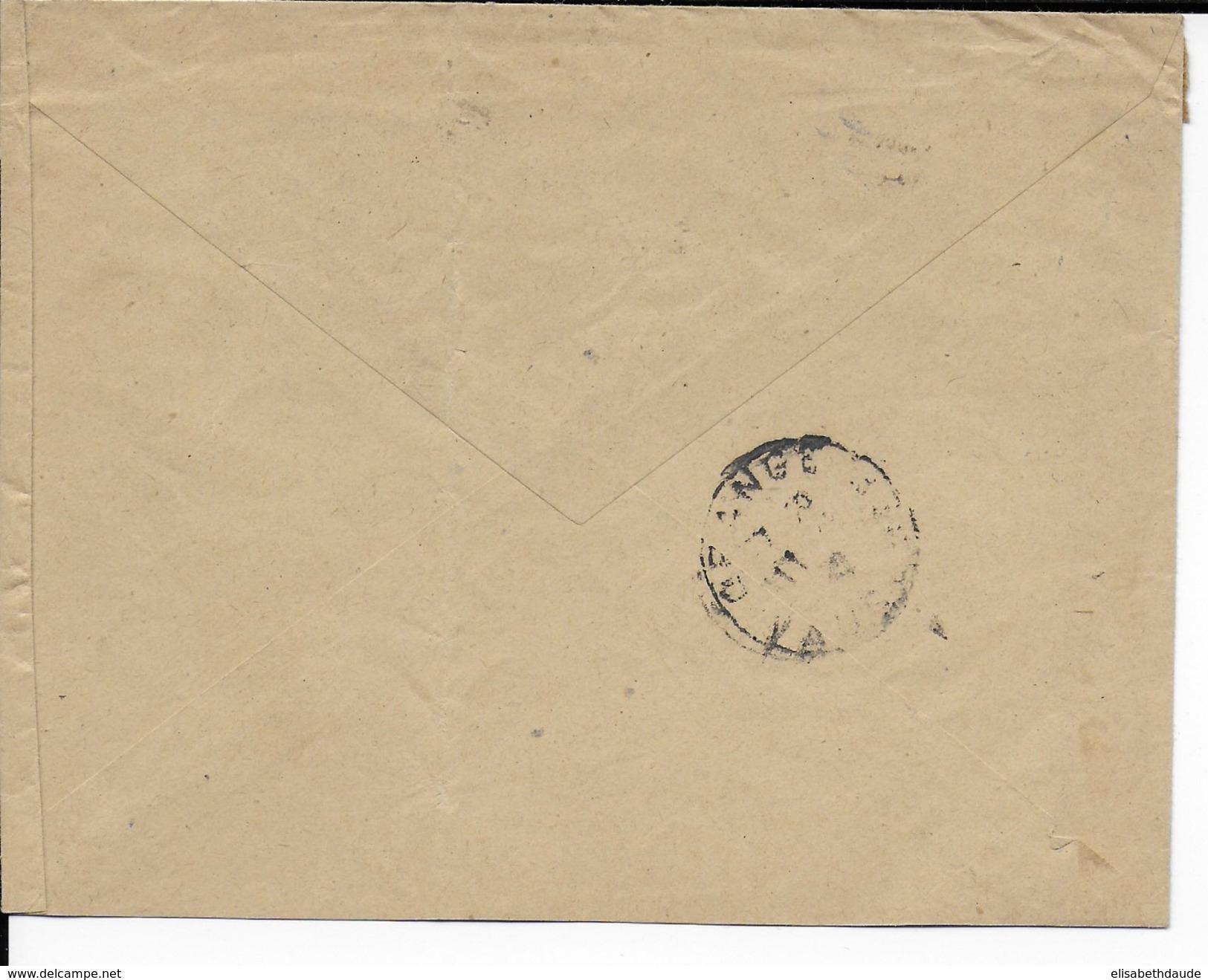 1942 - ALGERIE - ENVELOPPE RECOMMANDEE De ALGER => BASE AERIENNE De ORANGE (VAUCLUSE) - ARMOIRIES - Lettres & Documents