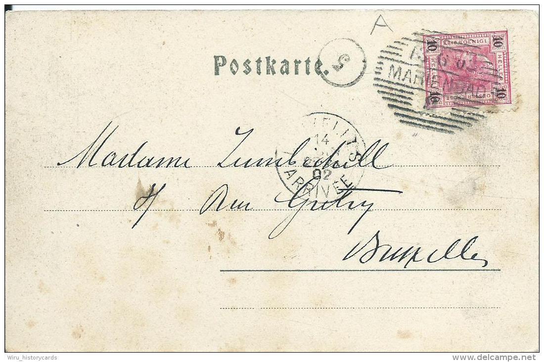 AK 0692  Brünn - Marienbad ( Pfarrsäuerling ) / Verlag Lederer & Popper Um 1902 - Böhmen Und Mähren