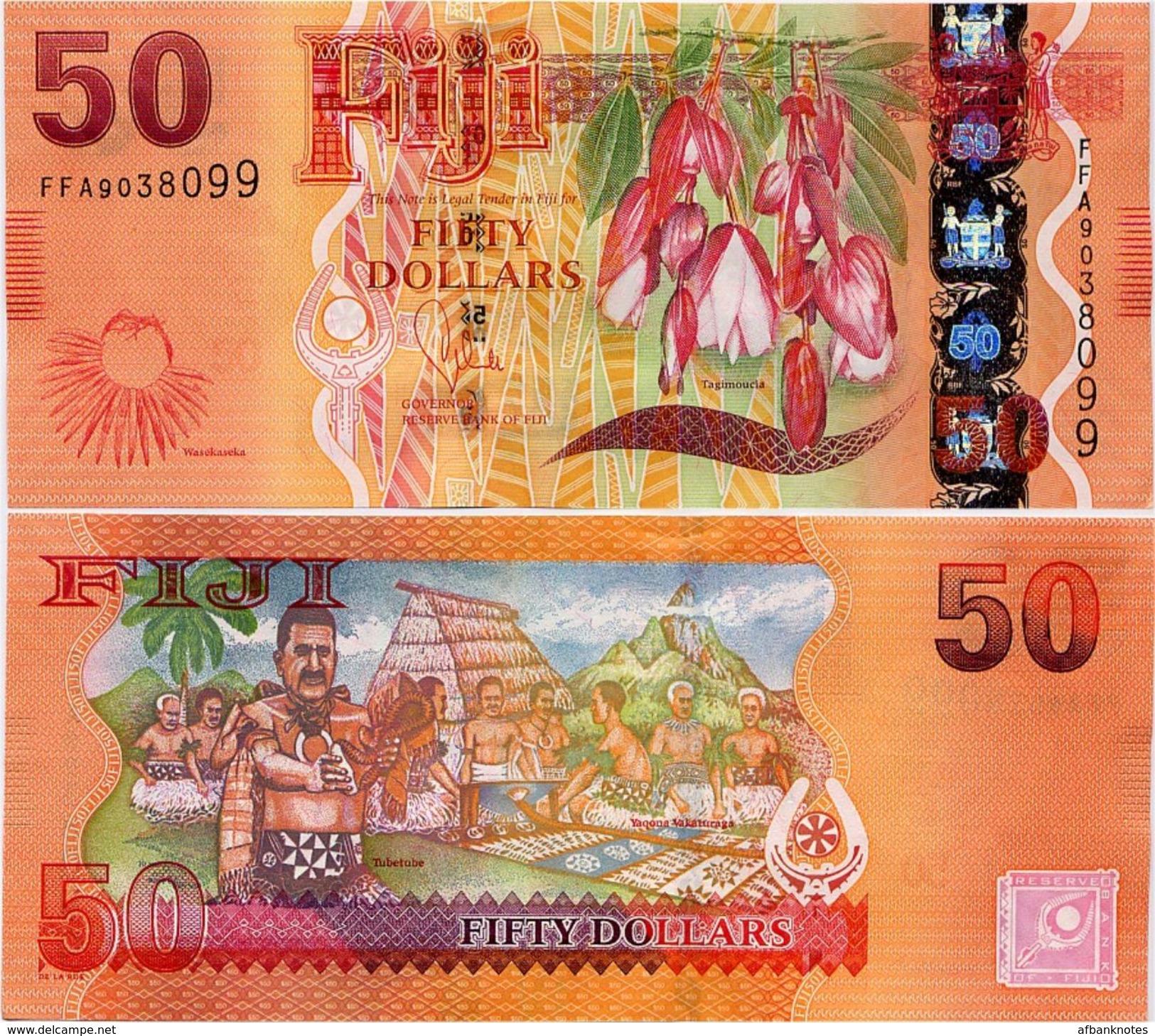 FIJI       50 Dollars       P-118a      ND (2013)       UNC - Figi