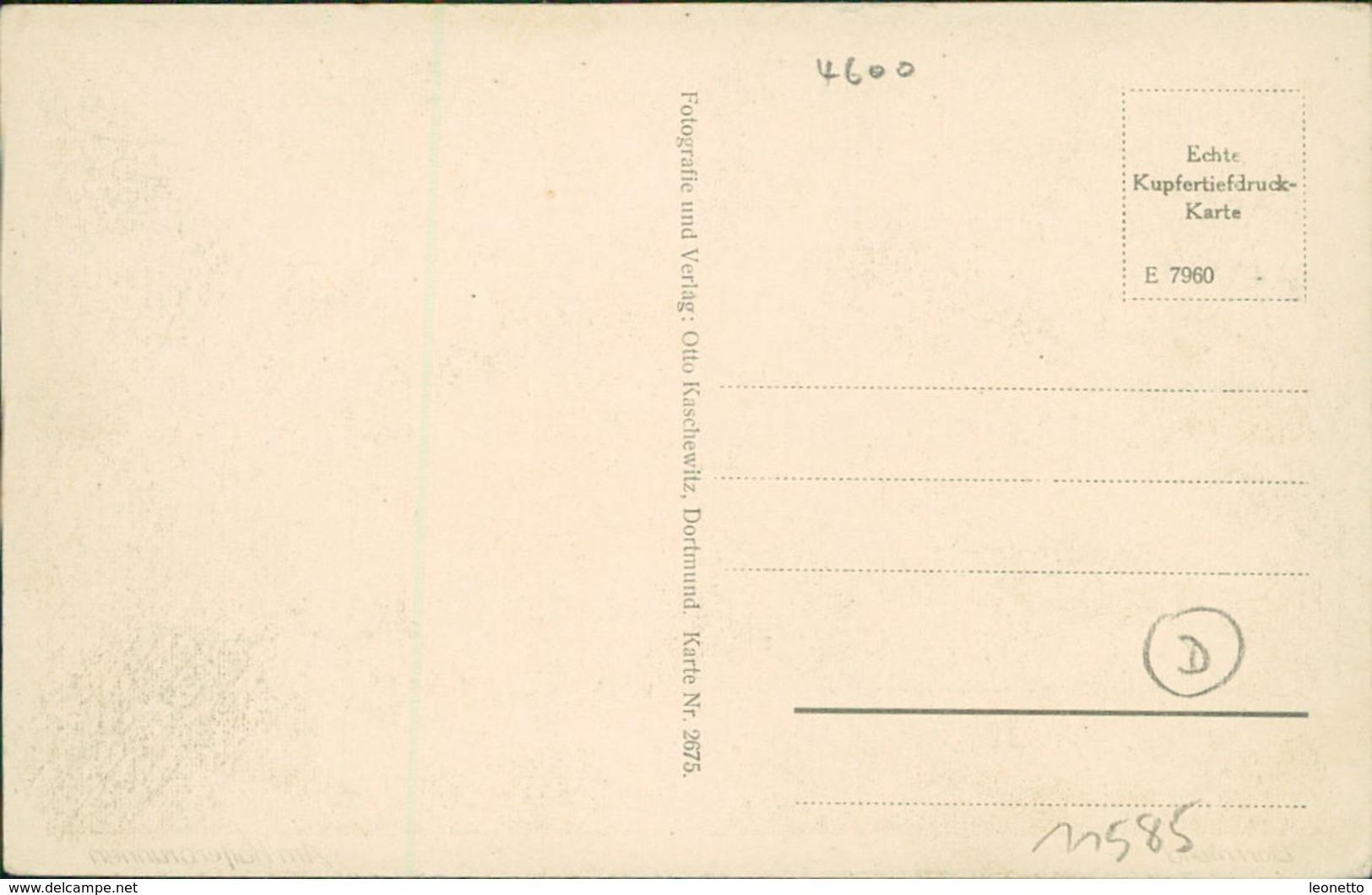 AK Dortmund, Am Kaiserbrunnen, Ca. 1910er Jahre (11585) - Dortmund