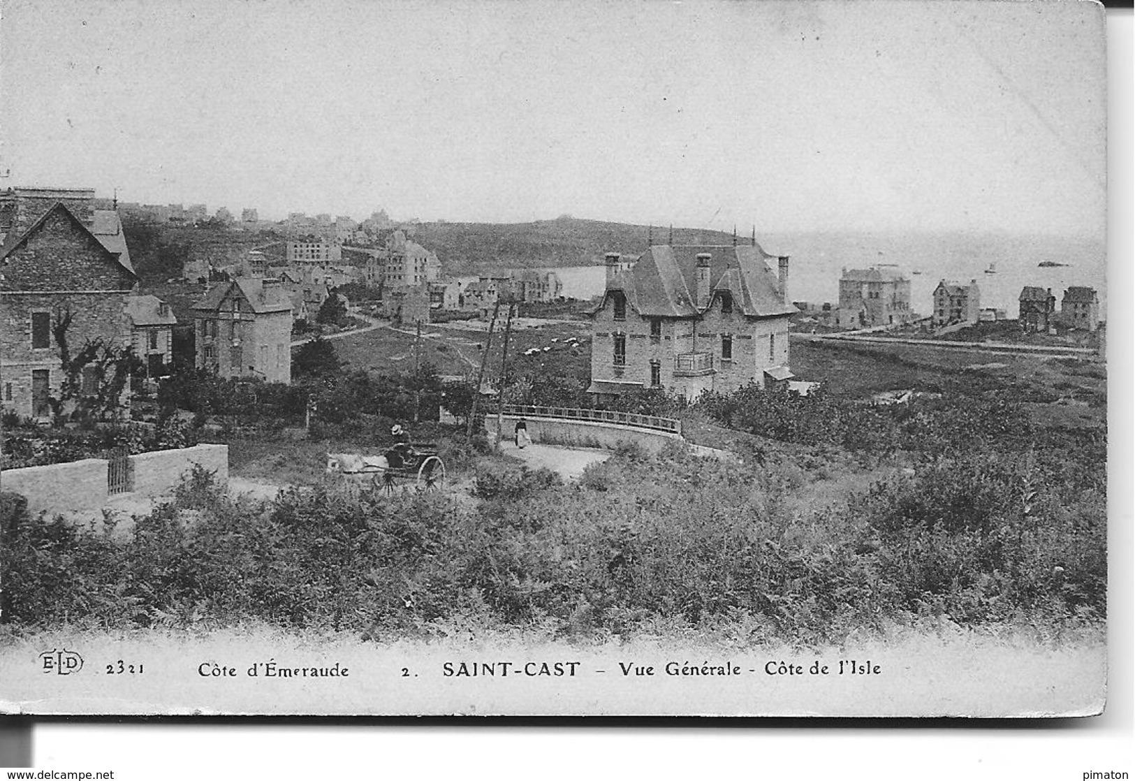 SAINT -CAST - Vue Générale - Cote De L'Isle - Saint-Cast-le-Guildo