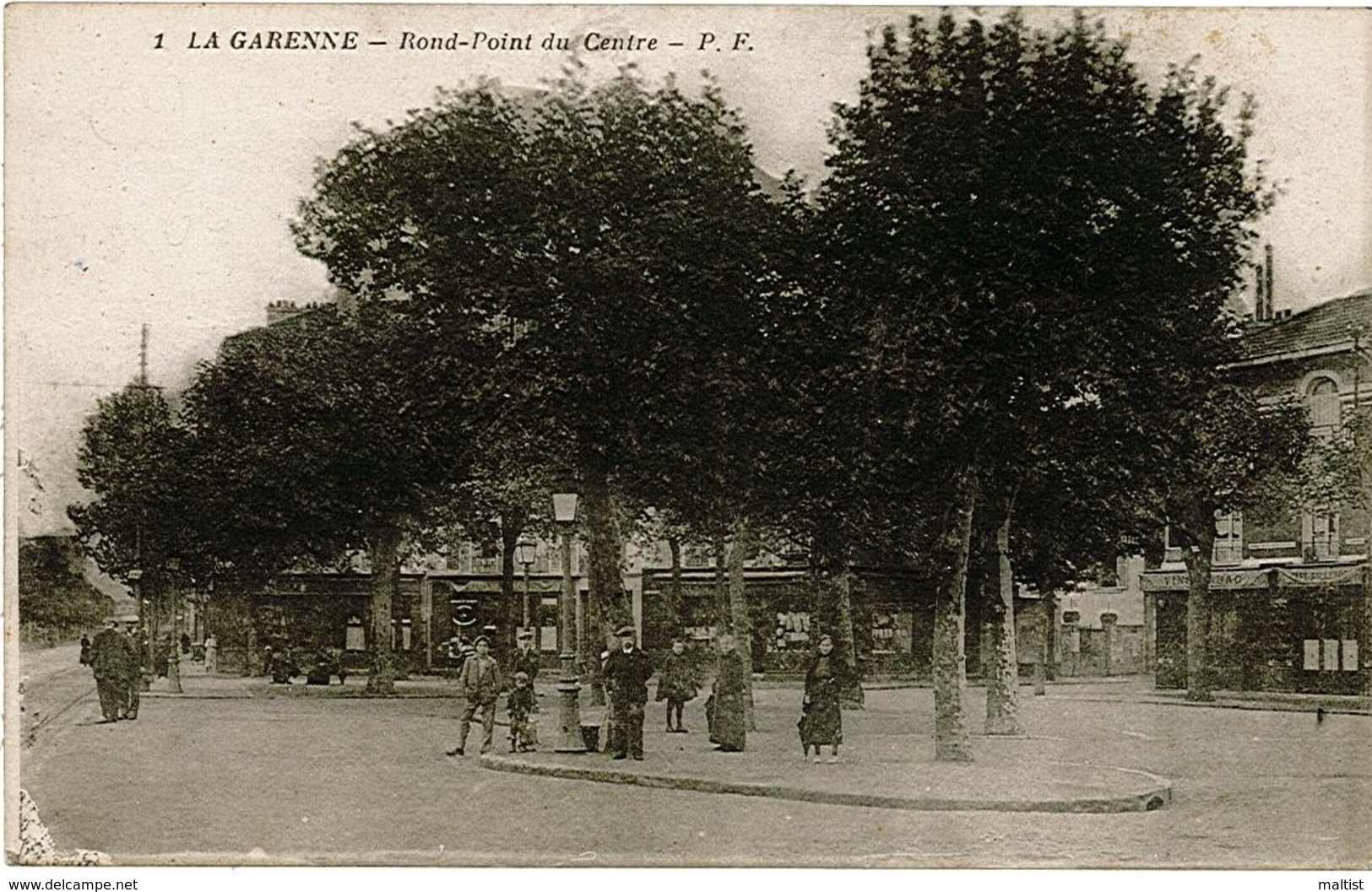 La Garenne Colombes - PF 1 - Rond Point Du Centre - La Garenne Colombes
