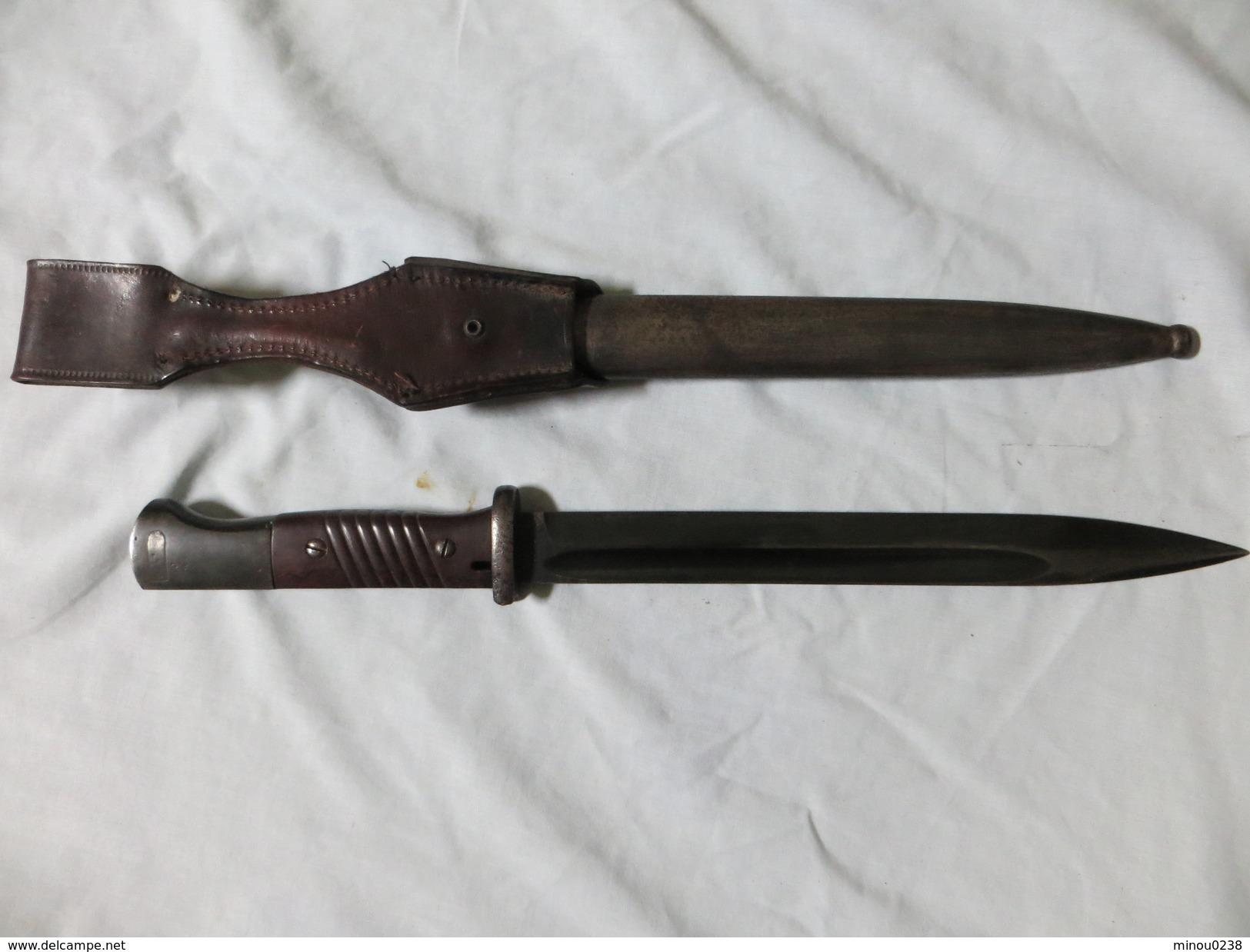 Baionnette (ALLEMANDE)  Longueur Totale 38.6cm - Armes Blanches