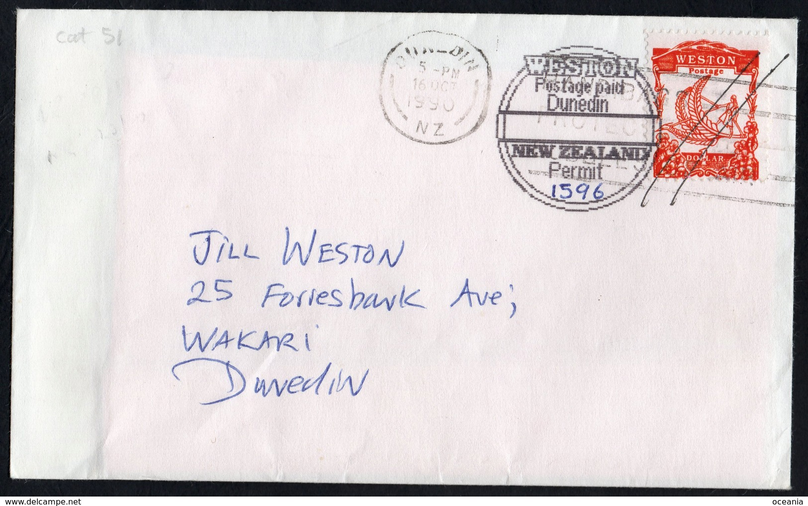 Orange WineBird On Duel Dated Postal Cover. - Unclassified