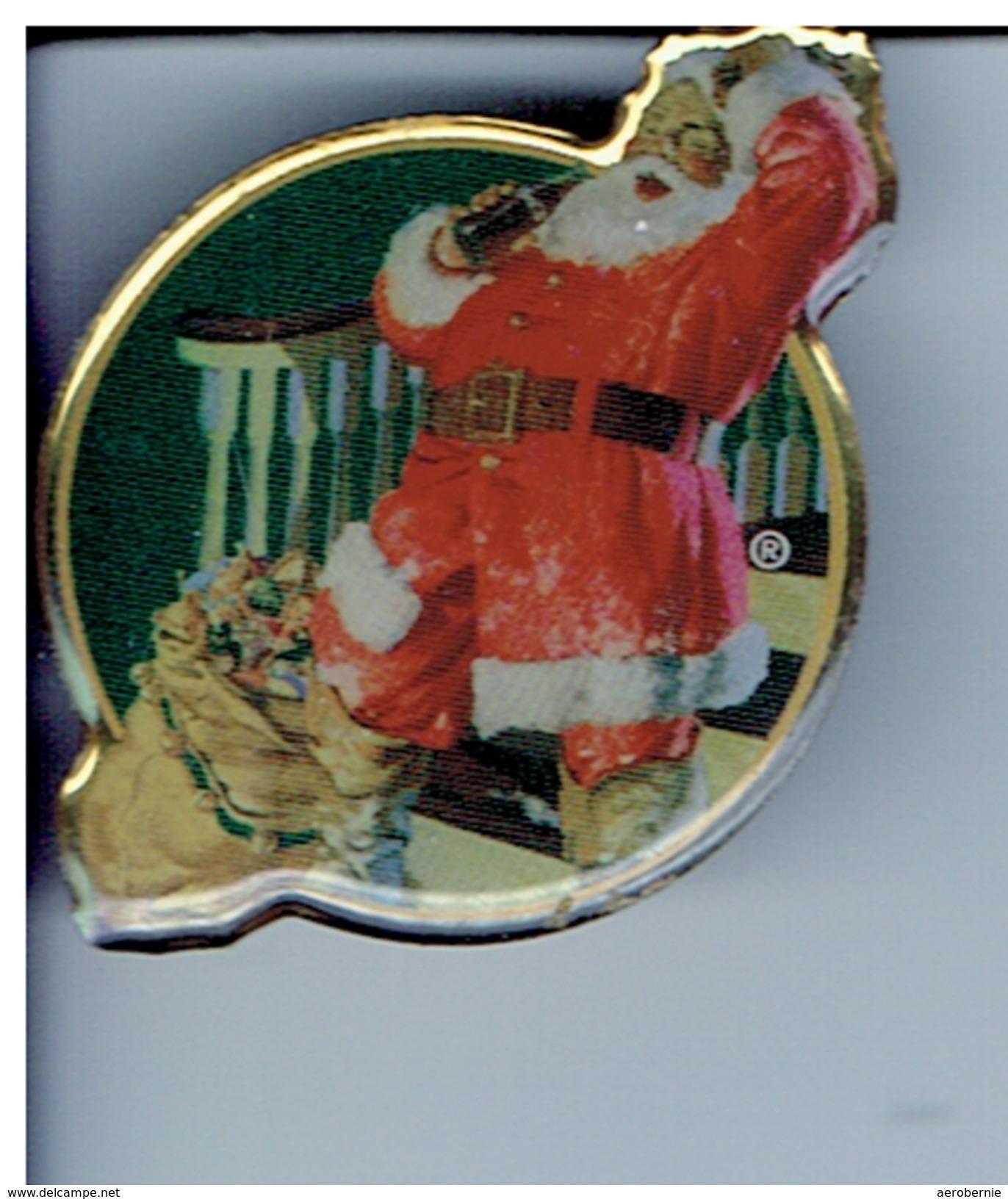 COCA-COLA Weihnachts-Pin - Coca-Cola