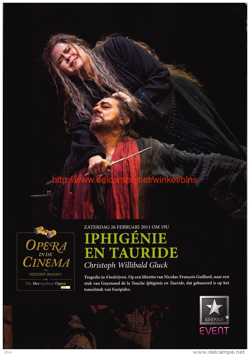 Iphigenie En Tauride - Christoph Willibald Gluck - Affiches & Posters