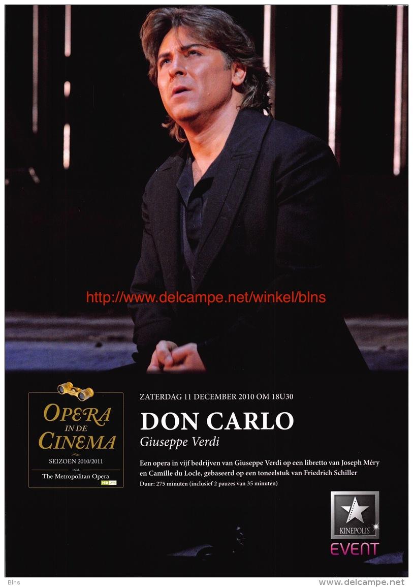 Don Carlos - Guiseppe Verdi - Plakate & Poster