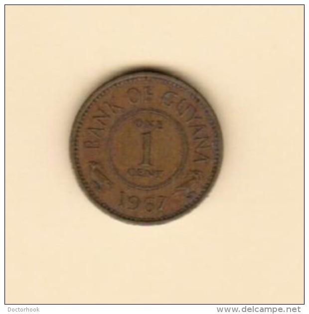 GUYANA  1 CENT 1967 (KM # 31) - Guyana