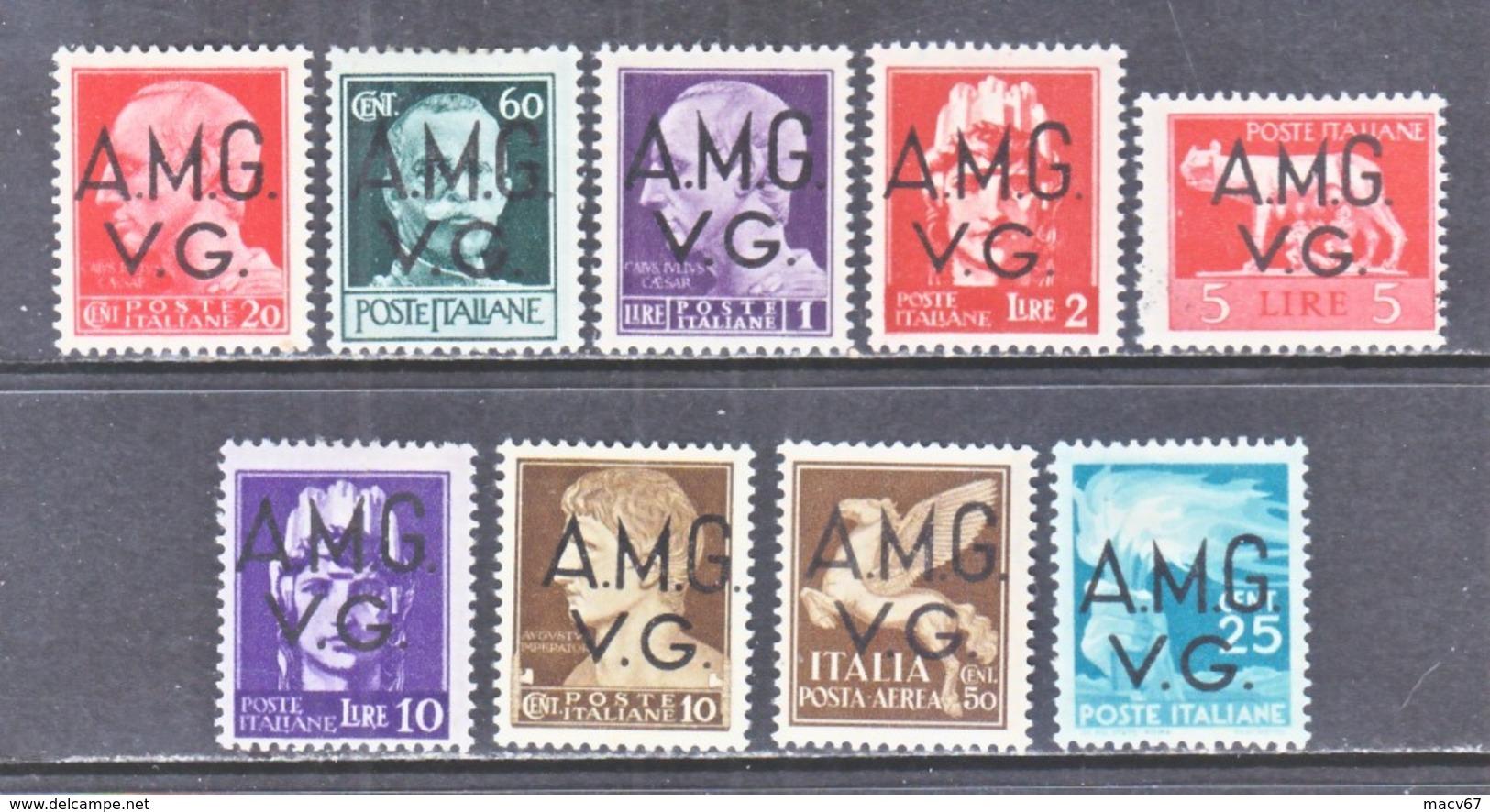 Italy AMG-VG 1 LN 2+   *  (o) - Trieste