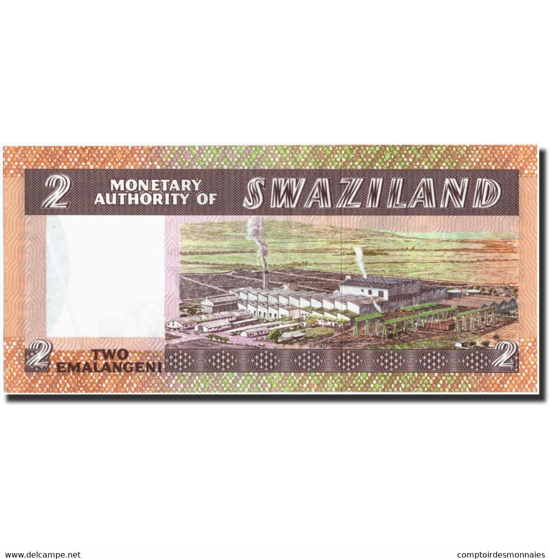 Swaziland, 2 Emalangeni, Undated (1974), KM:2a, Undated (1974), SPL - Swaziland