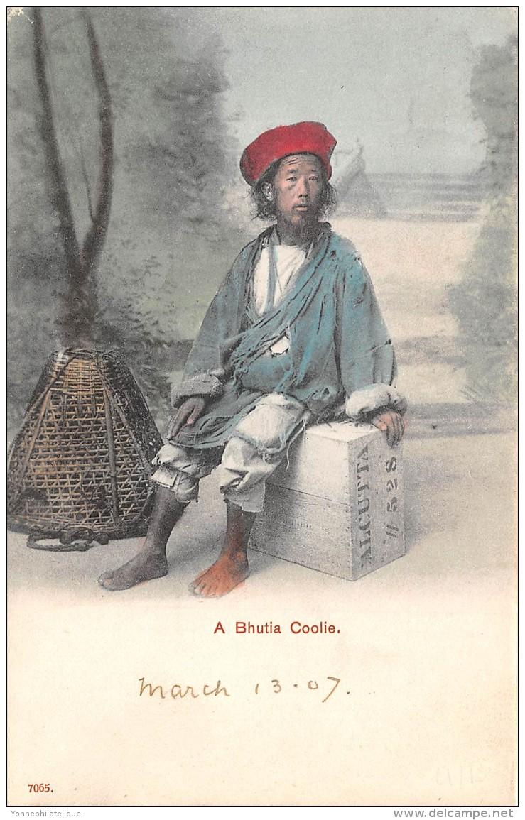 BHUTAN / A Bhutia Coolie - Bhoutan