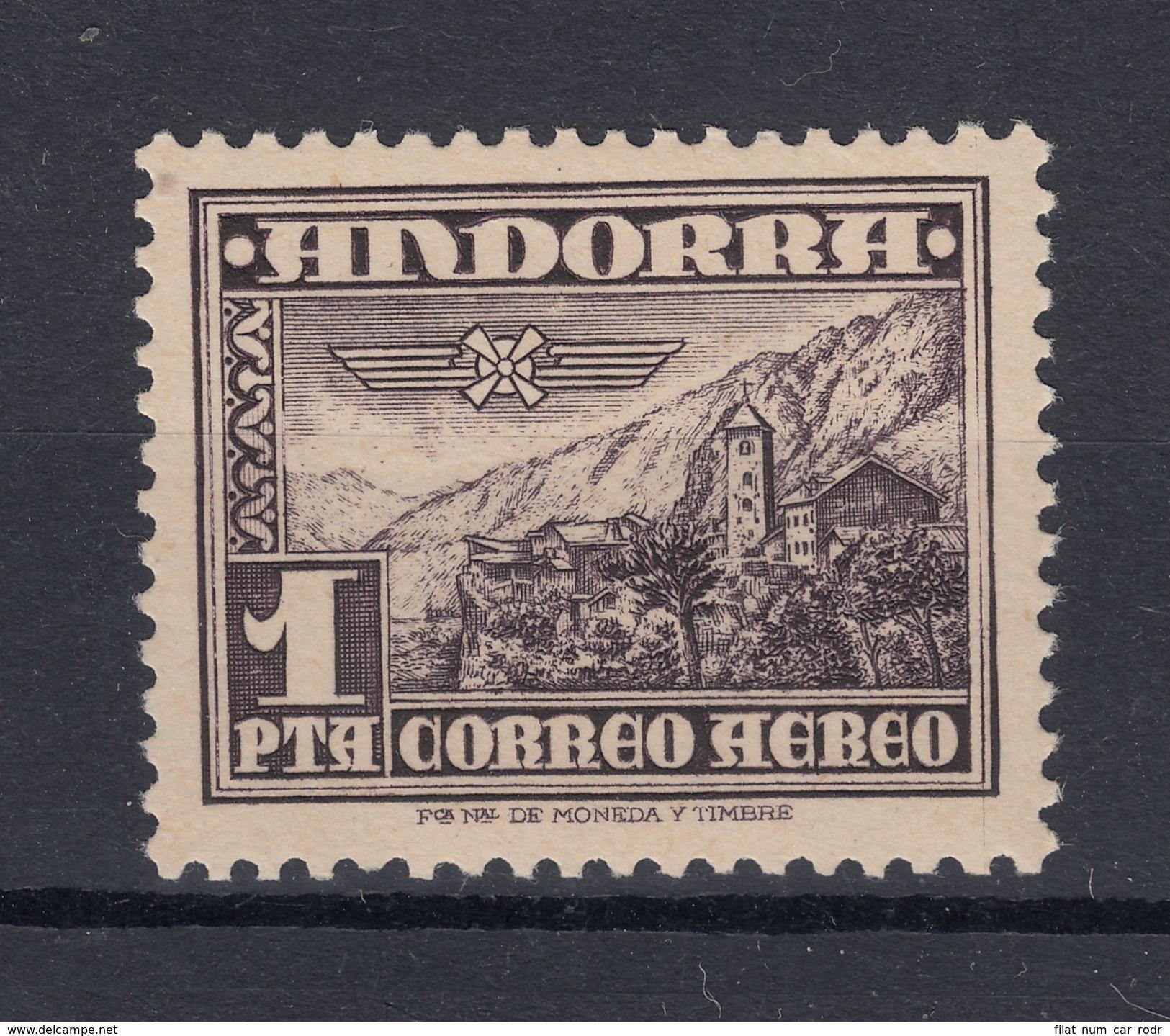 20LOTE4 ANDORRA ESPAÑOLA Nº 59 SIN CHARNELA - Nuevos