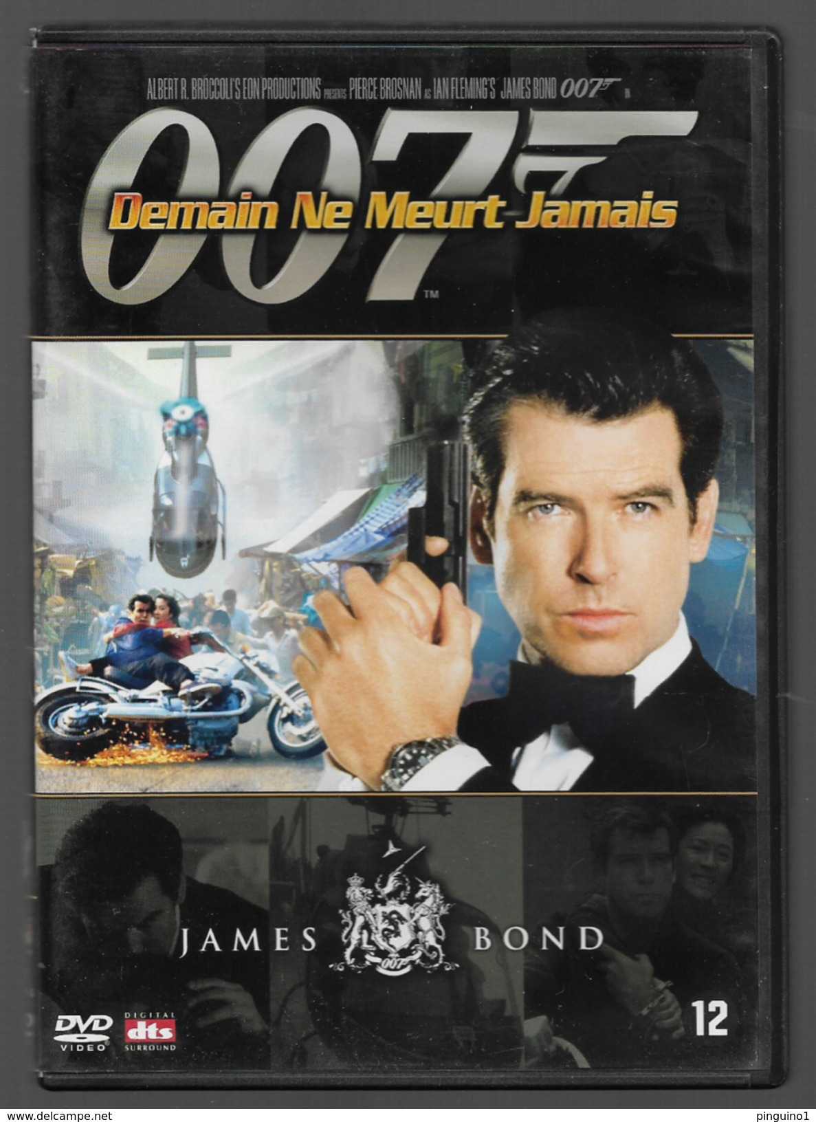 007 Demain Ne Meurt Jamais Dvd - Policiers