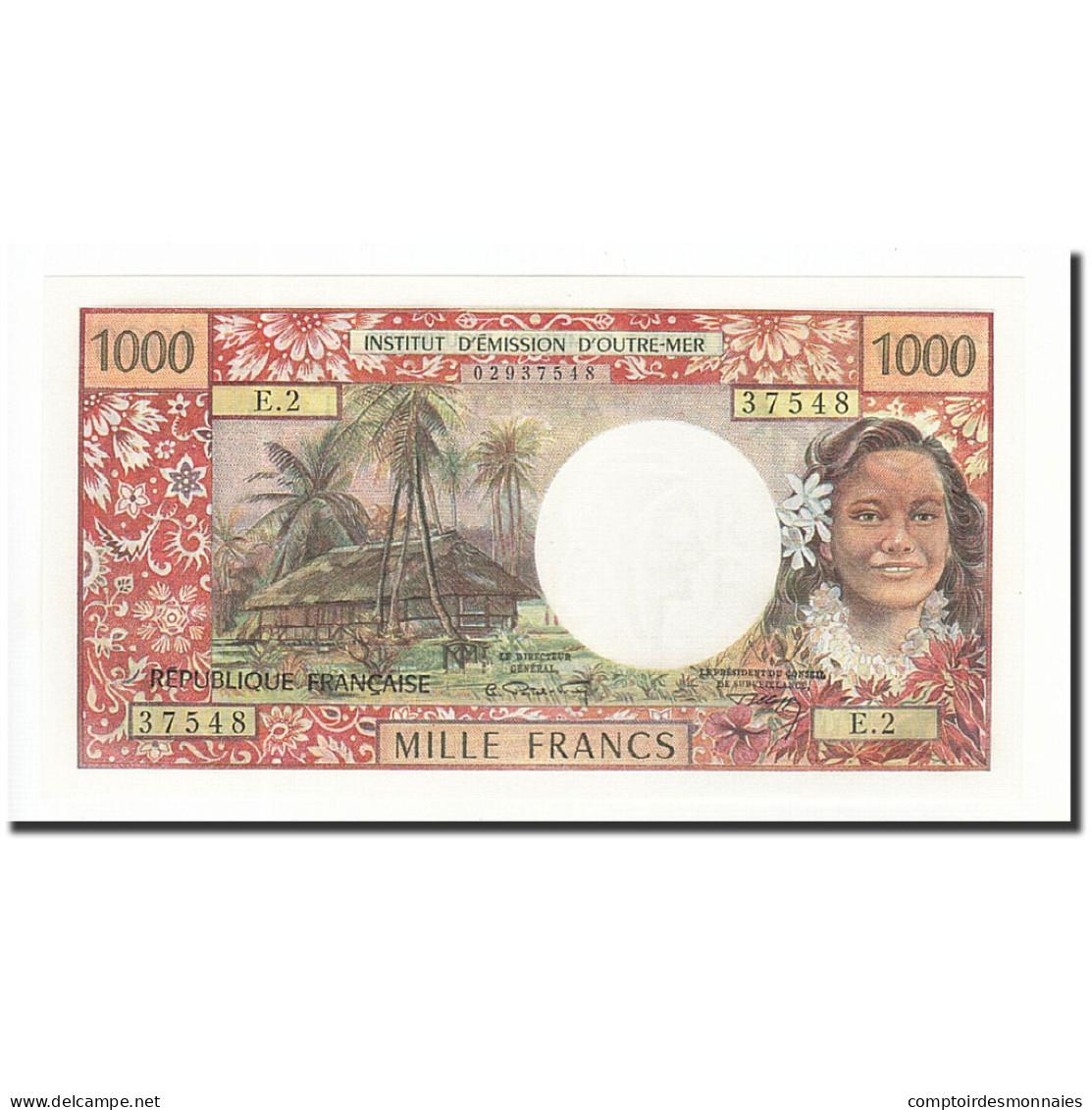 Tahiti, 1000 Francs, 1969-1971, KM:27A, Undated (1971), NEUF - Papeete (Polynésie Française 1914-1985)