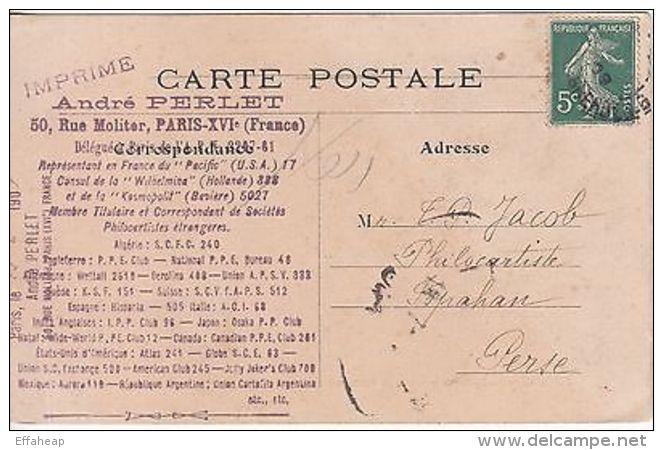 France: Le Garde Montante Au Palais De Justice; Postcard Collectors, 22 Jun 1909 - Unclassified