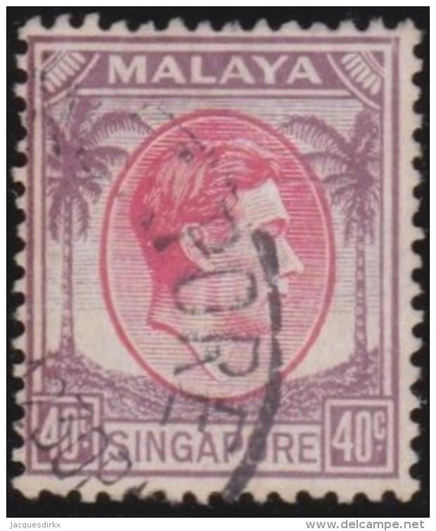 Singapore    .      SG        .    11   .       O       .      Gebruikt   .    /    .   Cancelled - Singapore (...-1959)