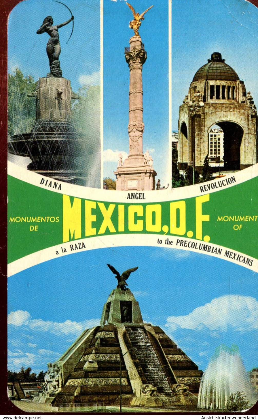Monumentos De Mexico D. F. 1971 (000452) - Mexiko