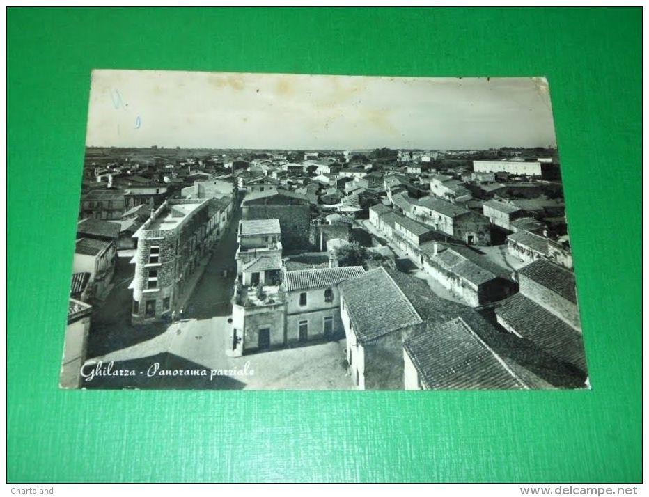Cartolina Ghilarza - Panorama Parziale 1960 - Oristano