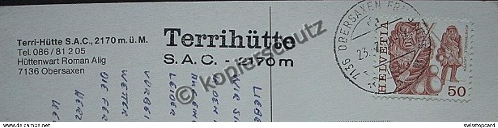 OBERSAXEN Terri-Hütte S.A.C. - GR Grisons