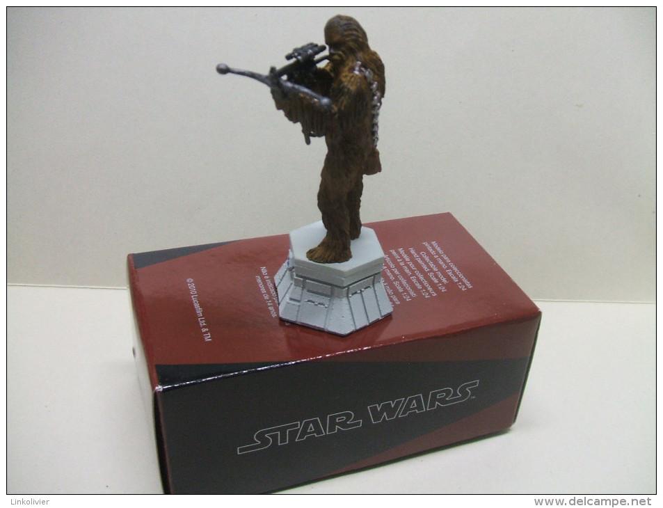 CHEWBACCA Figurine En Plomb STAR WARS Pièce De Jeu D´échecs ALTAYA : Fou Blanc - First Release (1977-1985)