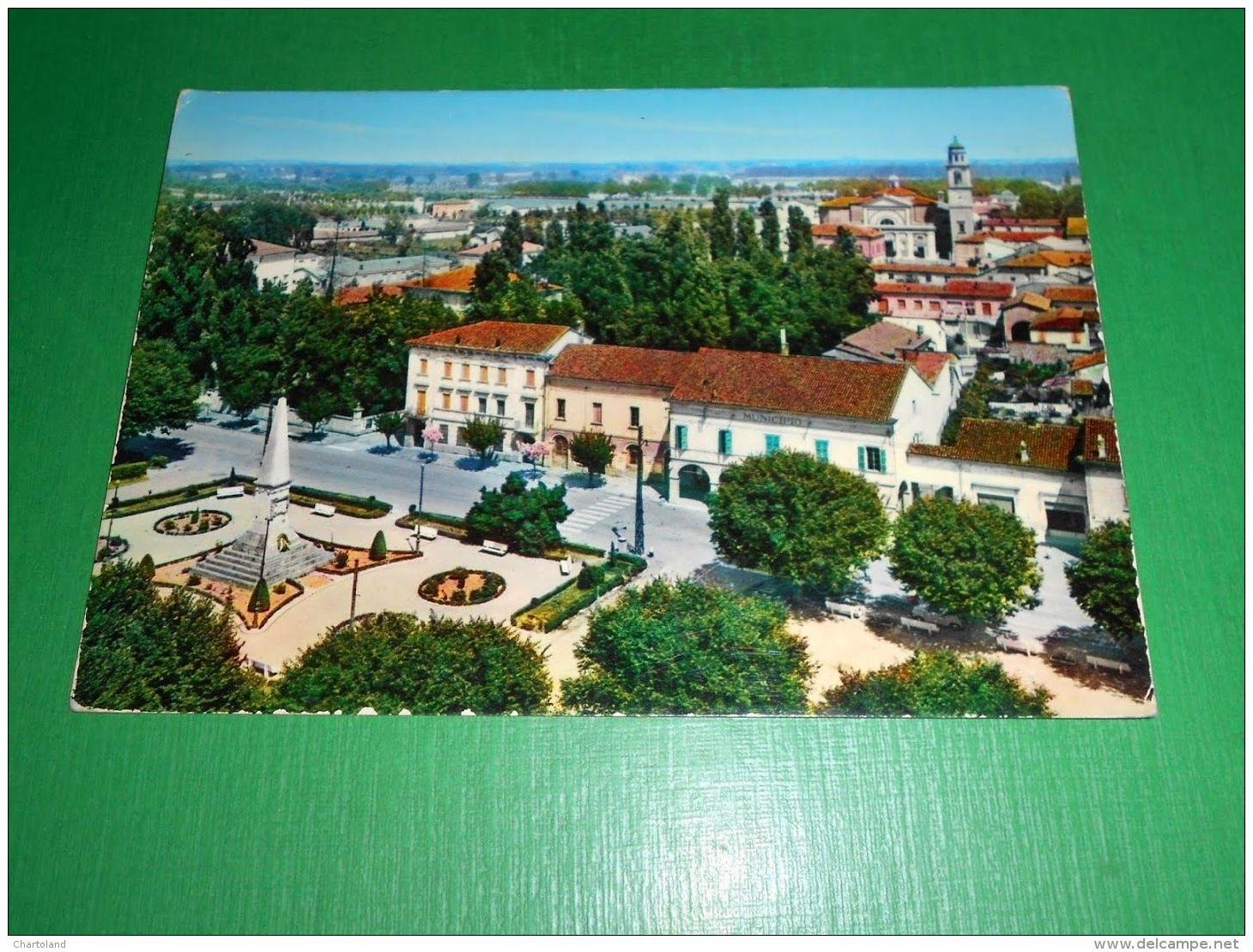 Cartolina Reggiolo - Panorama 1969 - Reggio Nell'Emilia