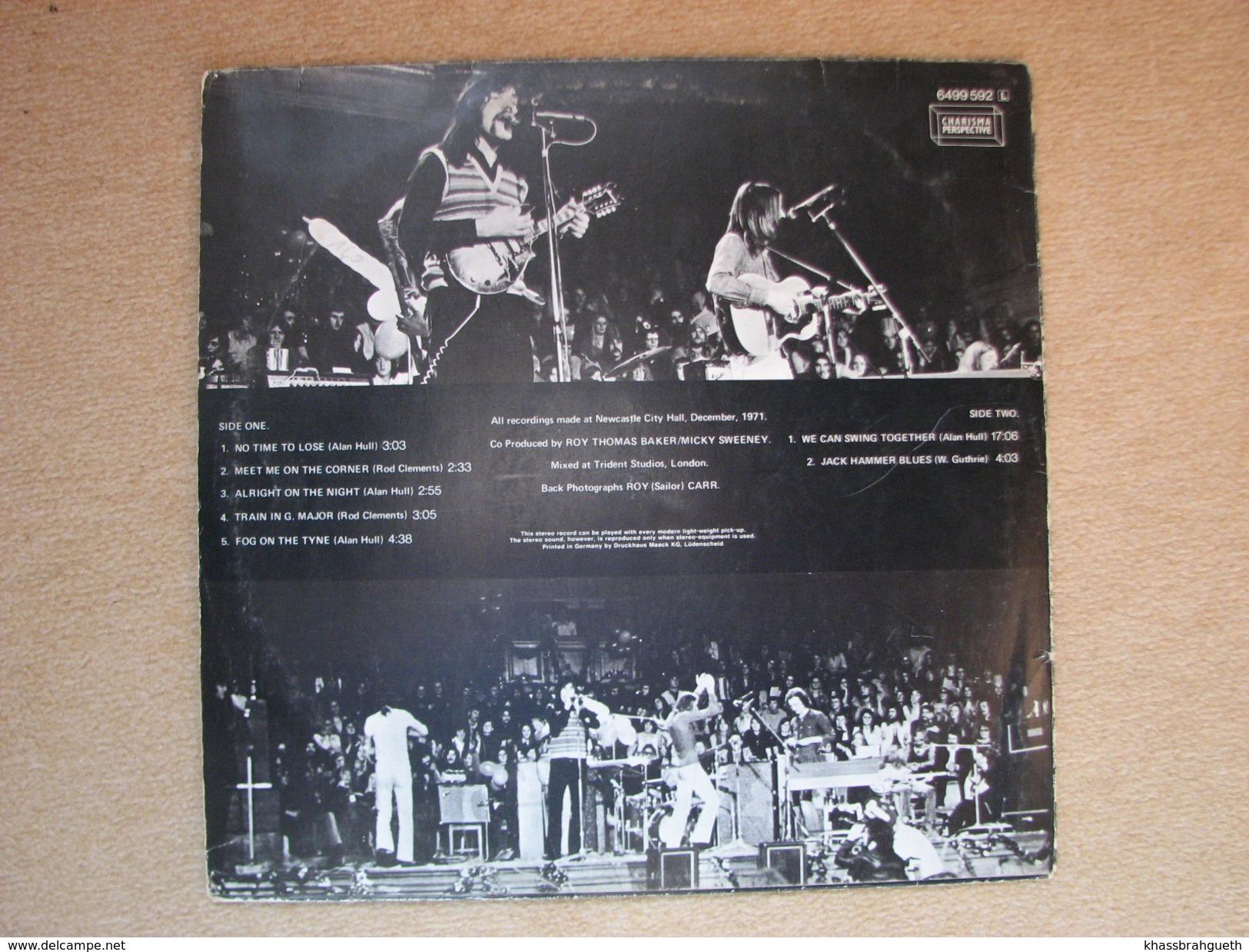 LINDISFARNE - LIVE (LP) (CHARISMA LABEL 1971) - Rock