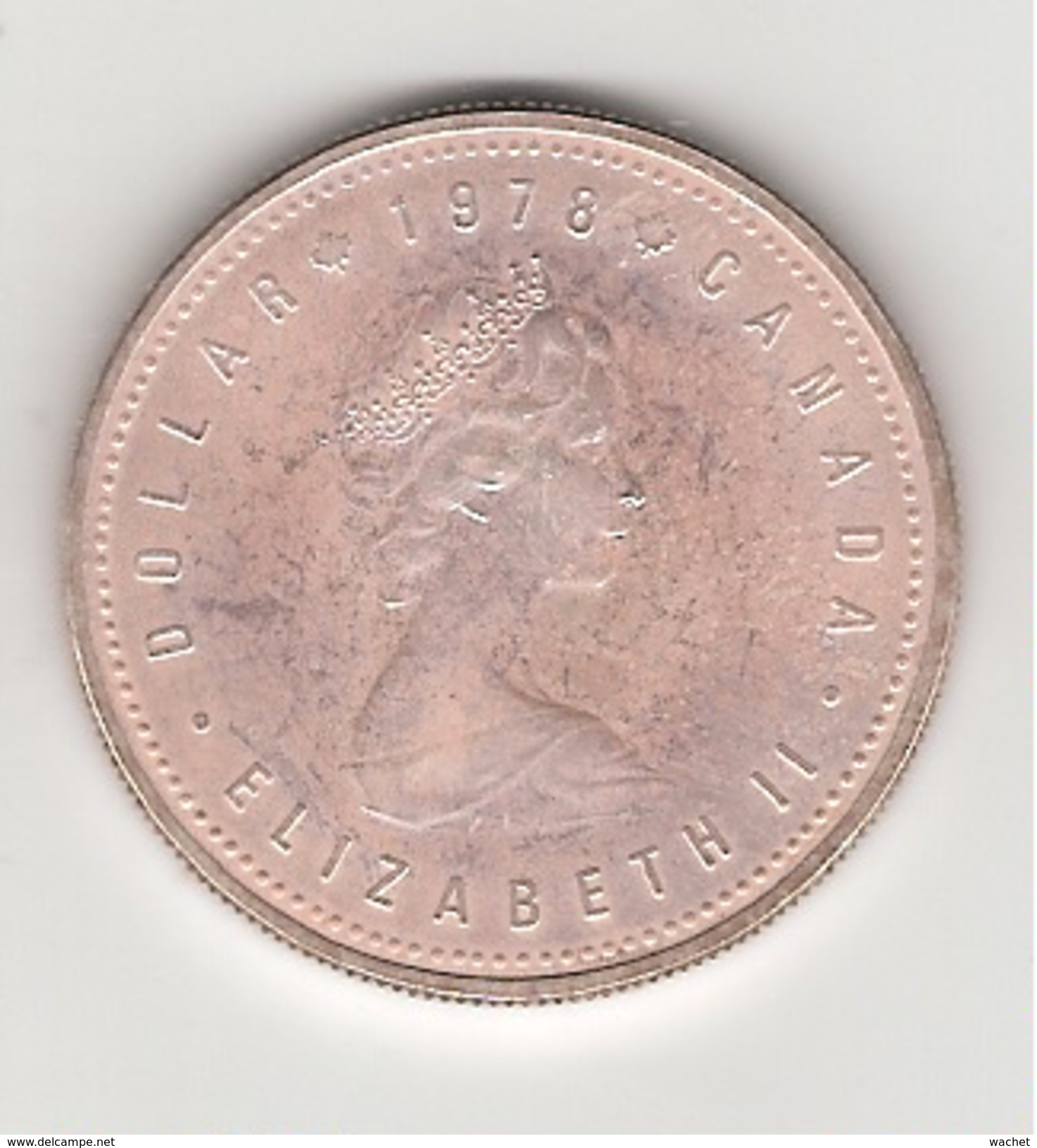Canada 1 Dollar En Argent Edmonton 1978 - Canada