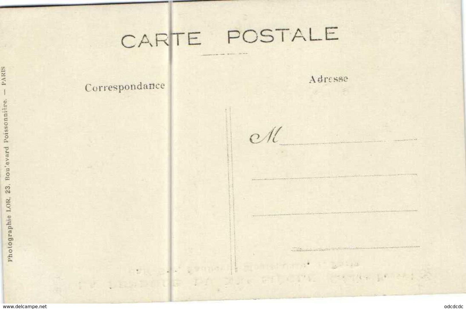 Carte Photo LA PENDULE DU XXe SIECLE  (Creation Bonnet) Café Bar Faubourg Montmartre 1 Paris RV Photo LOR  Bd Poissonniè - District 09
