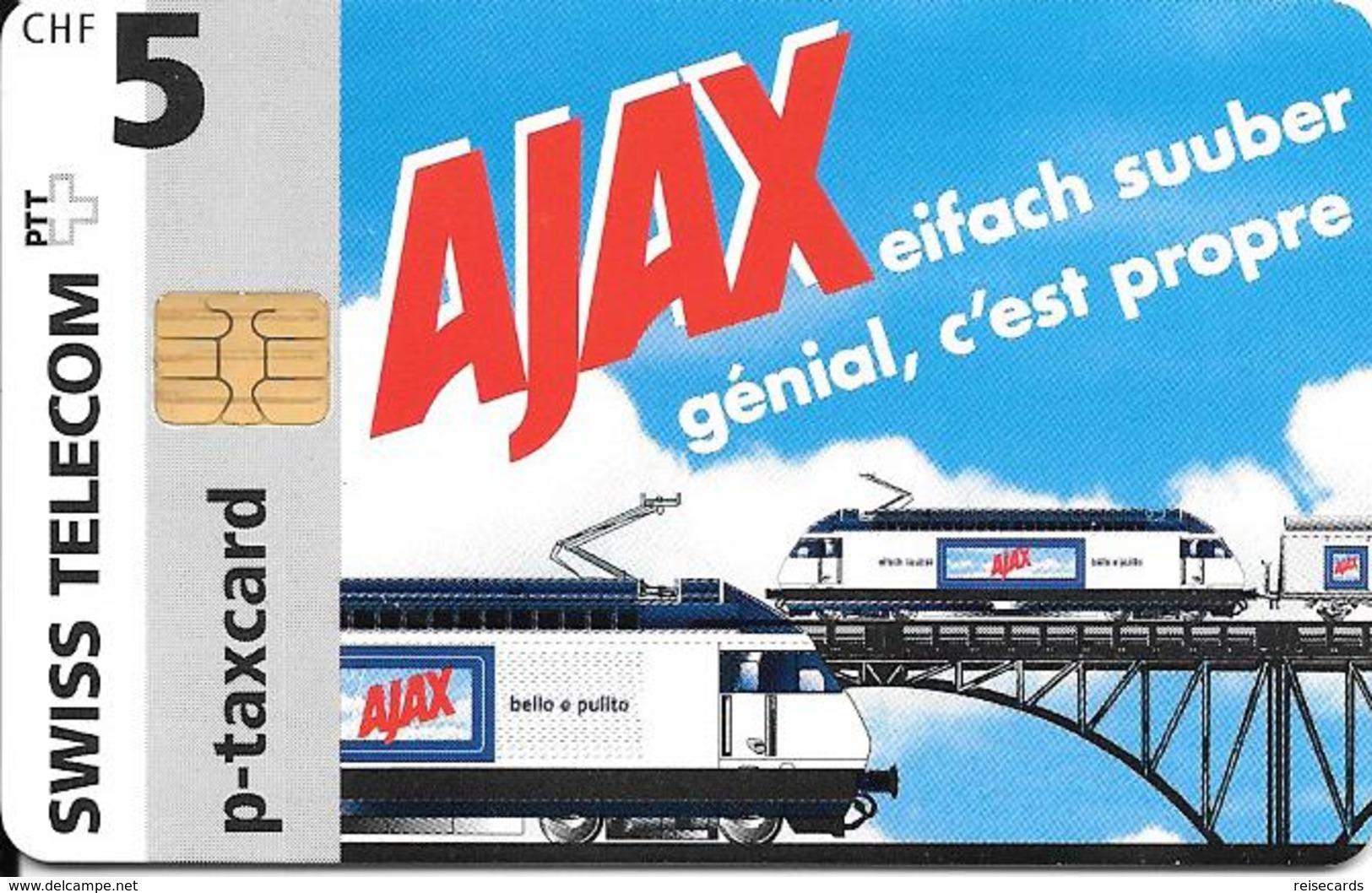 Swiss Telecom: Ajax - Lokomotiven - Schweiz