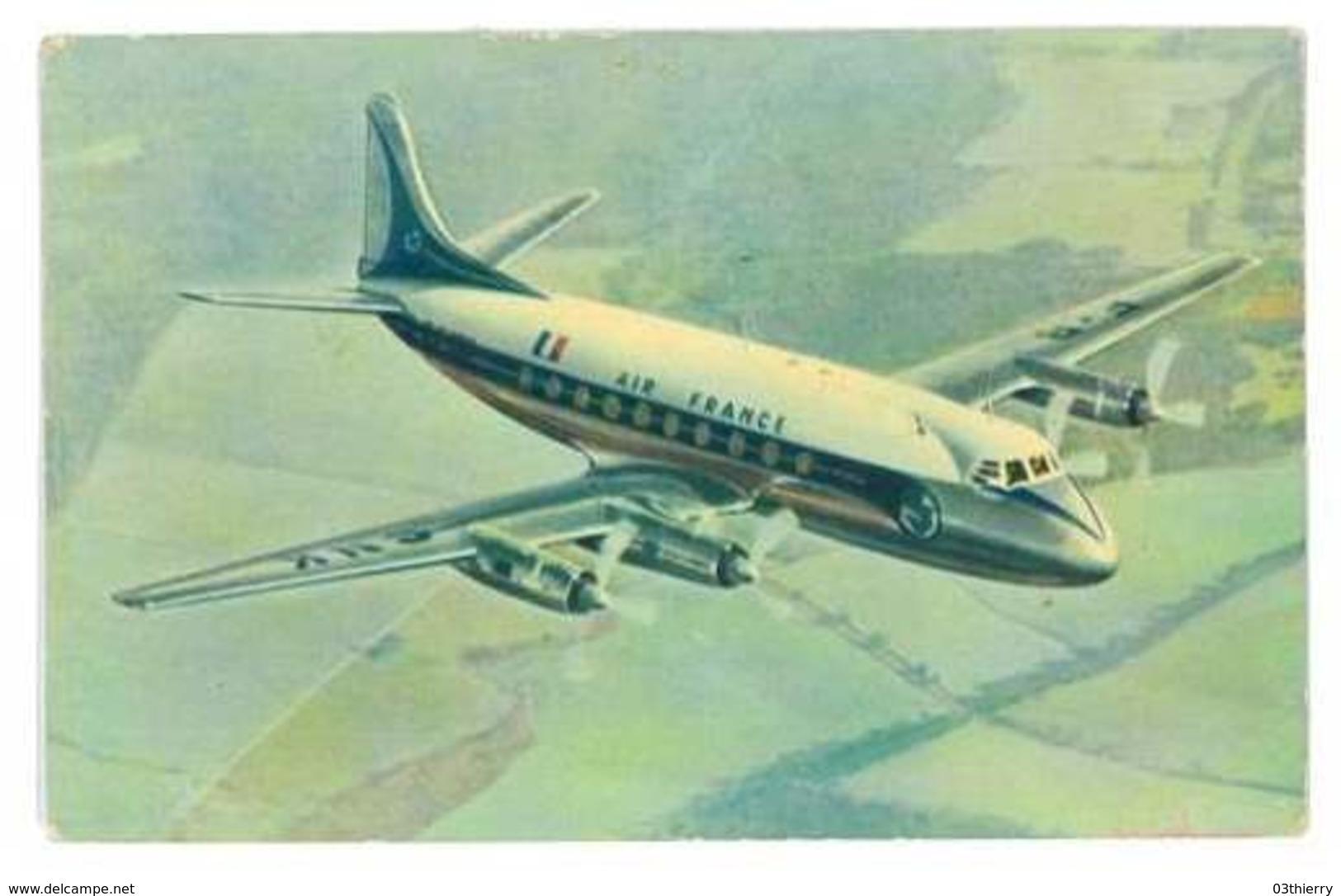 CPA AVION AIR FRANCE VICKERS VISCOUNT - 1946-....: Modern Era