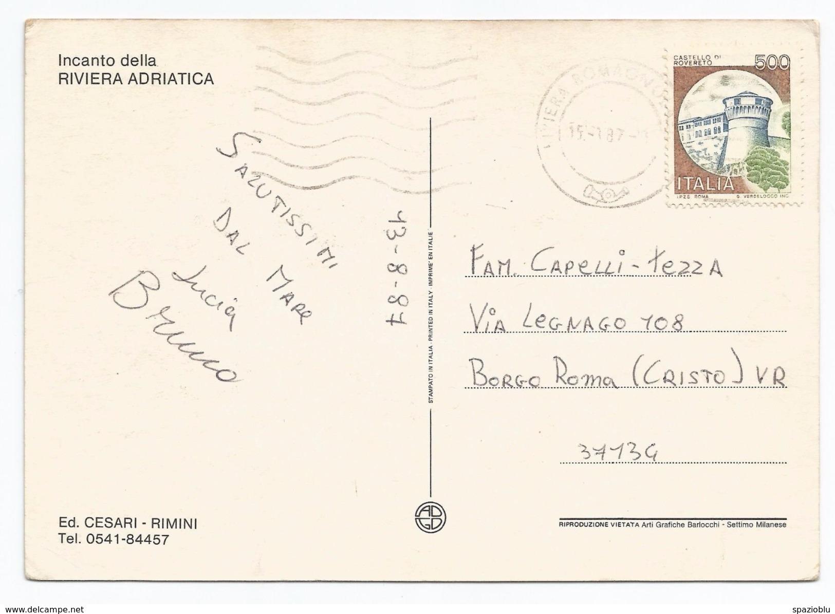 1987, Rimini - ...onde Dispettose... - Incanto Della Riviera Adriatica. - Rimini