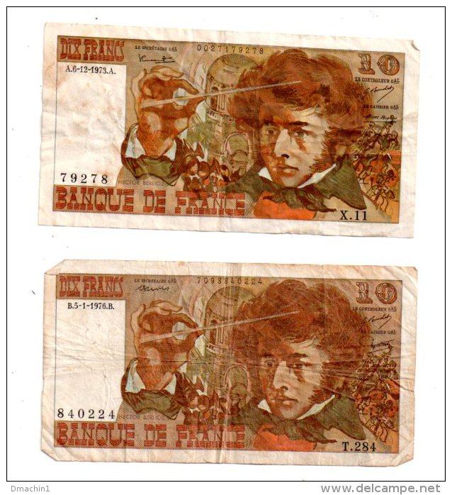 2 Billets De 10 Francs - Voir Etat - Billets