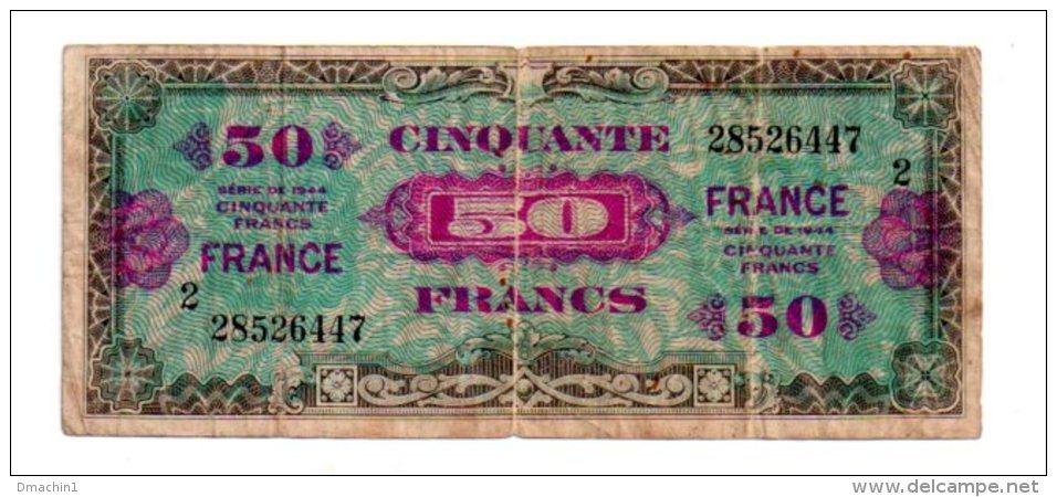50 Francs - Serie 44- Voir Etat - Billets