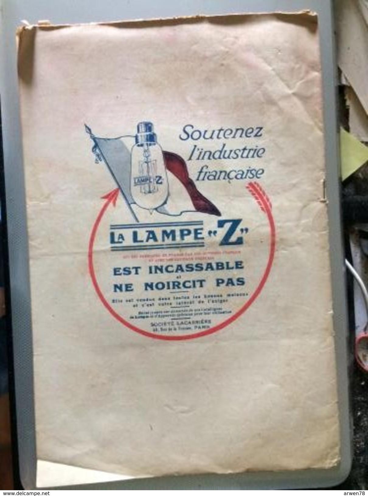 Le Cri De Paris Justin Godart Docteur Medecin Lavement Pub Lampes Z Juillet 1917 - Journaux - Quotidiens