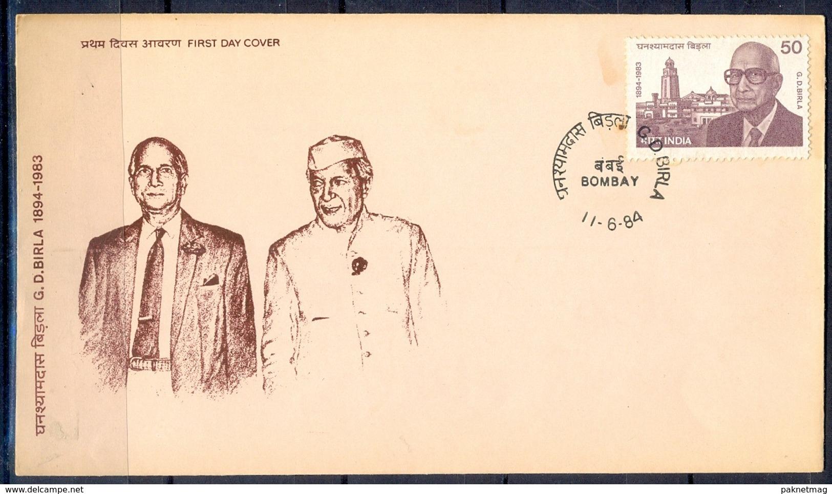 J312- India 1984. Ghanshyam Das Birla, Science & Technology Institute. - India
