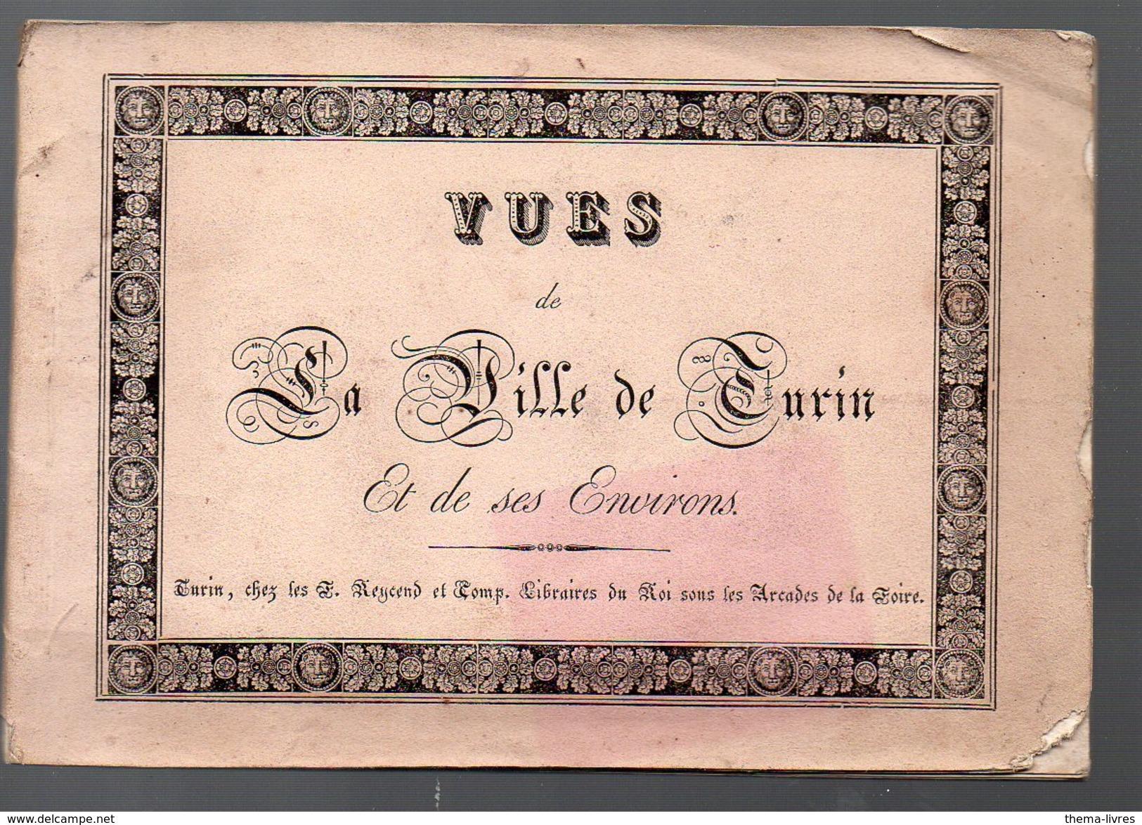 Turin (Italie) Carnet De 18 Vues Lithographiées  ( Sd, XIXe)  (PPP5261) - Dépliants Touristiques