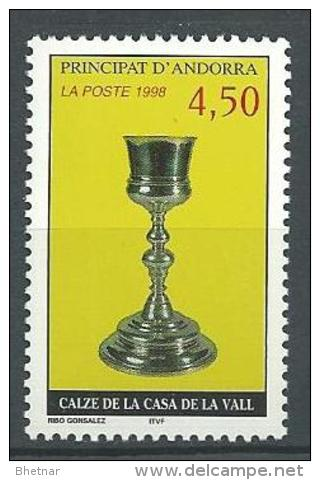 """Andorre YT 506 """" Calice """" 1998 Neuf** - Andorre Français"""