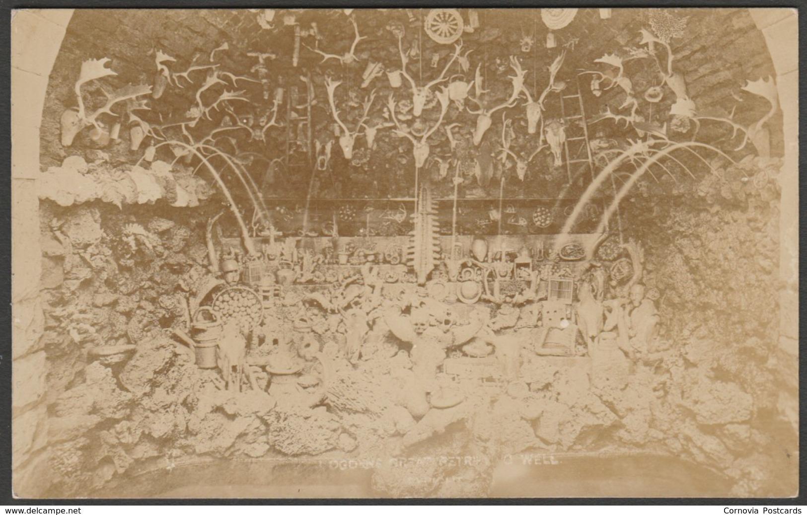 Ogden's Great Petrifying Well, Matlock, Derbyshire, C.1910 - Ogden RP Postcard - Derbyshire