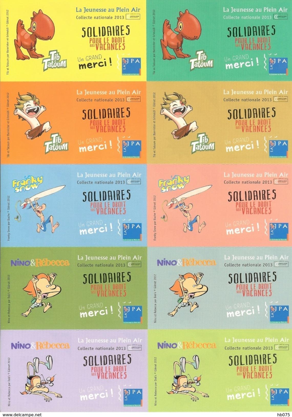 HB-A 083 Série D'autocollants JPA 2013 - Stickers