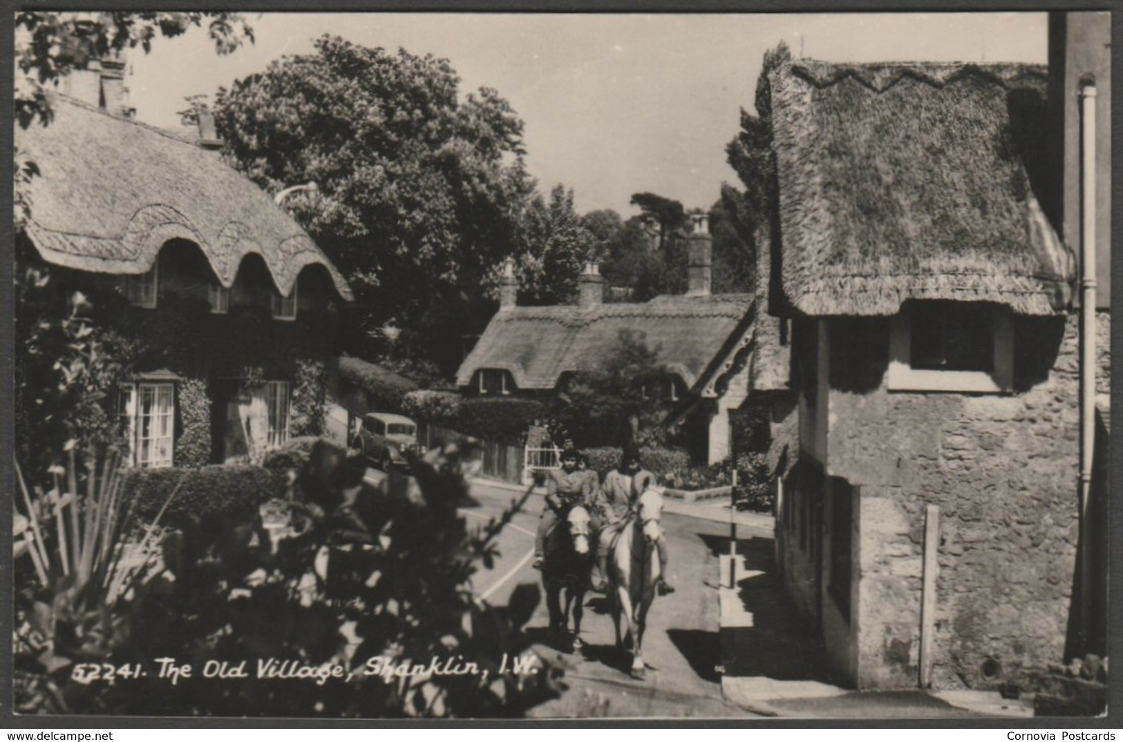 The Old Village, Shanklin, Isle Of Wight, C.1950s - Domino Series RP Postcard - England